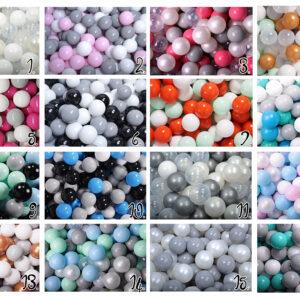 Yhdeksän Täyttä Elämää pallomeri värisekoitusten vaihtoehdot 1-16